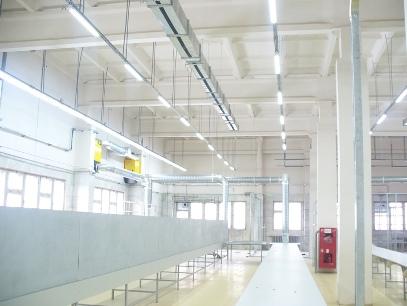 Освещение промышленных зданий